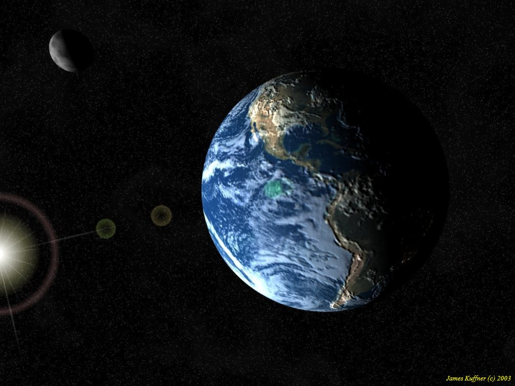 spacecraft and earth - photo #47